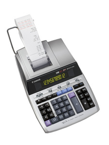 Canon calculatrice imprimante MP1211-LTSC, écran bicolore,