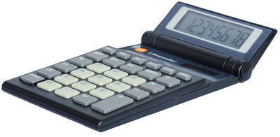 TRITON calculatrices L-819 solar, noir