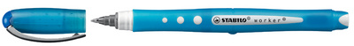 STABILI Stylo roller worker colorful, bleu