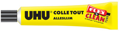 UHU Colle universelle FLEX + CLEAN liquide, 20 g