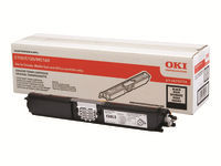 OKI : TONER cartridge BLACK pour C110/C130 2.5K PGS