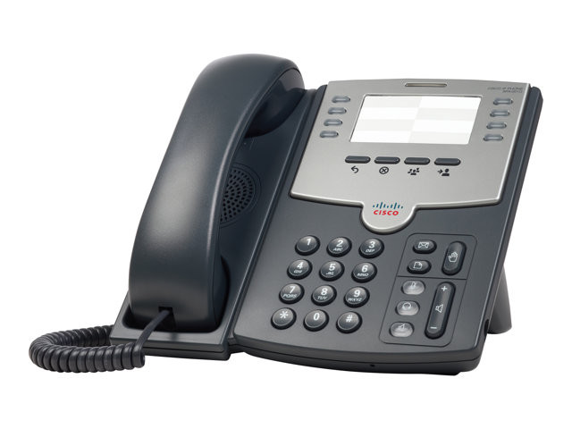 Cisco : 8 LINE IP PHONE avec POE et PC PORT en