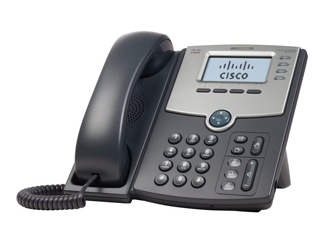 Cisco : 4 LINE IP PHONE avec DISPLAY POE et PC PORT en