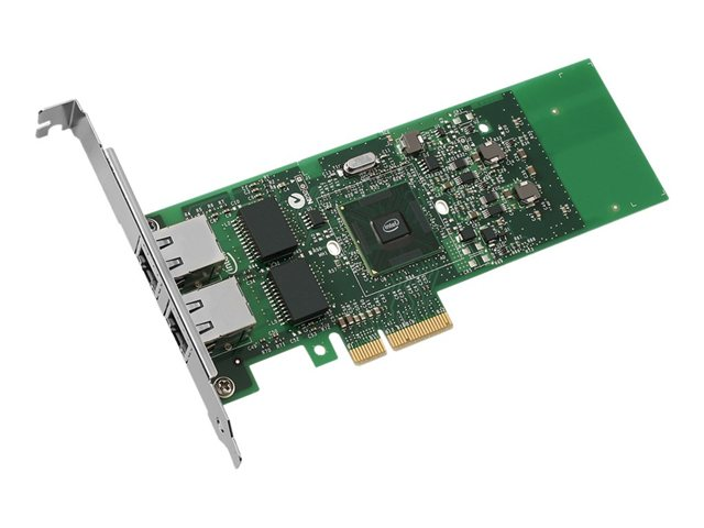 Intel : GB et DUAL PORT SERVER ADAPTER COPPER PCIE VMDQ IPSEC & LINKS