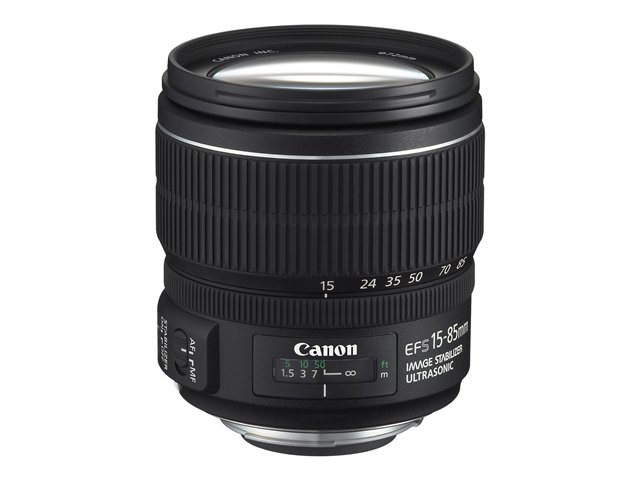 Canon : EF-S 15-85 MM F/3 5-5 6 IS LENS pour EOS CAMERAS