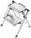 Hailo Marchepied pliant en aluminium Mini Comfort, 2 marches