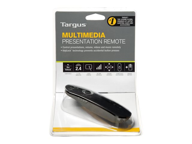 Targus : TARGUS PRESENTATION REMOTE USB PORT
