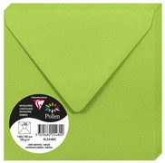 Pollen by Clairefontaine Enveloppes 140 mm, vert bourgeon