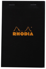 RHODIA Bloc agrafé No.14, 110 x 170 mm, quadrillé 5x5 orange
