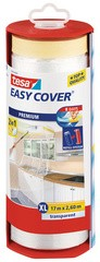 tesa Abdeckfolie Easy Cover Premium, 550 mm x 33 m