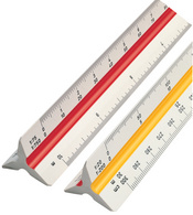 rotring Triangular reduction scales pour architecte(B)