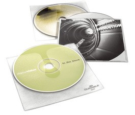 DURABLE Etuis CD/DVD  COVER pour 1 CD, PP, transparent,