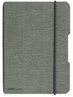 herlitz Carnet de notes my.book flex, A6, couverture en lin,