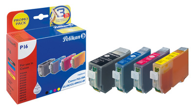 Pelikan Multi-pack encre 4106650 remplace Canon CLI-526C/