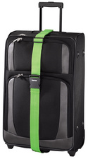 hama Sangle de bagages, en nylon, 50 mm x 2 m, noir