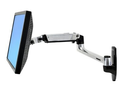 Ergotron : LX WALL MOUNT LCD ARM .