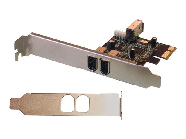 MCL Samar : PCI EXPRESS FIREWIRE IEEE card 1394A - 2 + 1 PORTS (NORMAL+LP) fr