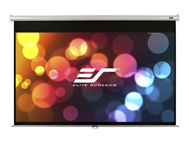 Elite Screen : 170X130 213CMDIAGO 4:3 6.2KG WHITE CASING MANUAL SCREEN
