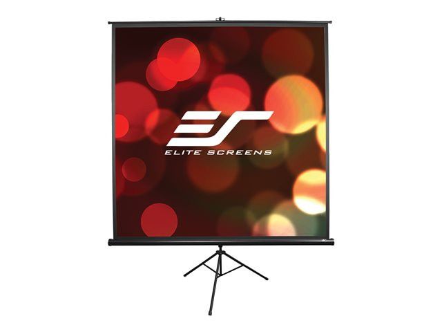 Elite Screen : 150X150 216CMDIAGO 1:1 6.5KG MANUAL SCREEN TRIPOD PORTABLE (7.56kg)