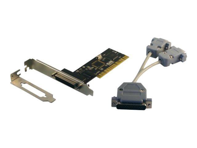 MCL Samar : 2PT RS232 card PCI (NORMAL + LP) fr