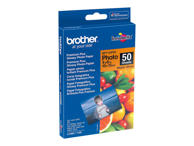 Brother : BP61GLA GLOSSY papier A4 - 20 SHEETS