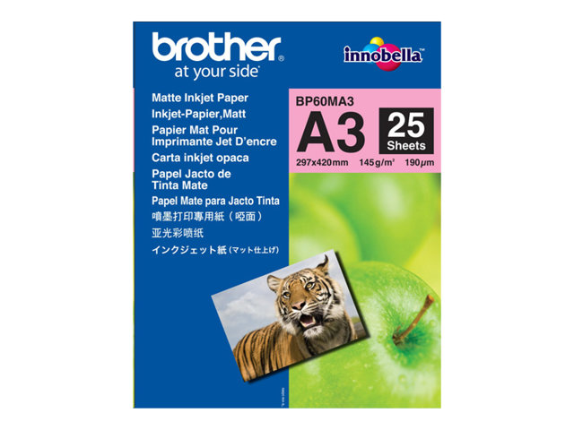 Brother : BP61GLA papier MATE 20 SHEETS