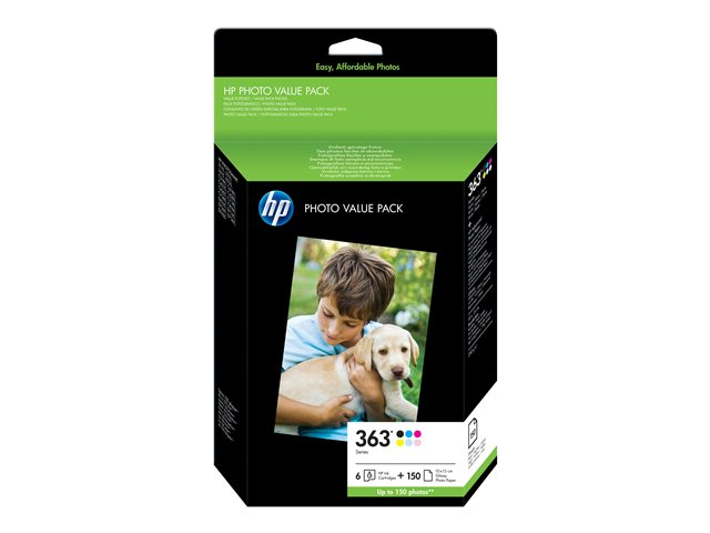 HP : HP 363 SERIES Photo pack 10X15CM 150SHEETS BLISTER