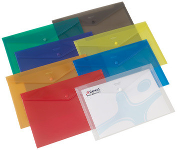 REXEL porte-document Folder, format A4, assorti, en PP
