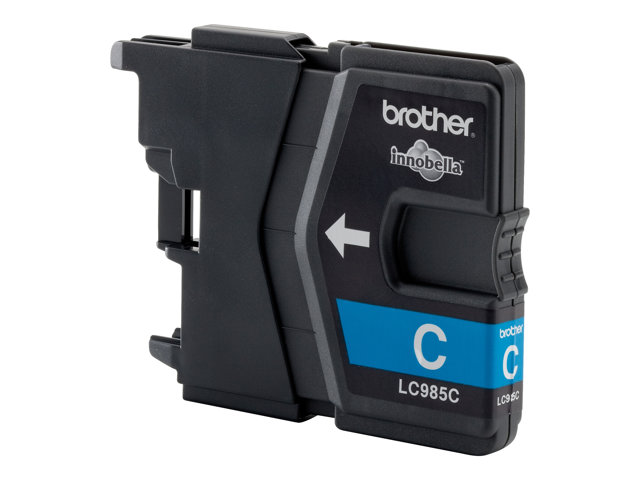 Brother : LC-985BK Cartouche encre CYAN pour MFC-J615W
