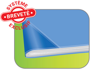 ELBA Protège-cahier STRONG LINE, 170 x 220 mm, rouge