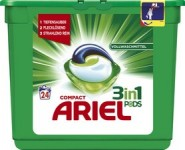 ARIEL Lessive 3in1 PODS REGULIER, 24 lavages