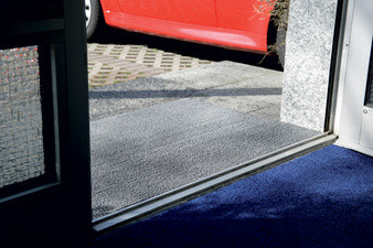 miltex tapis anti salissure looper x mm noir busiboutique. Black Bedroom Furniture Sets. Home Design Ideas