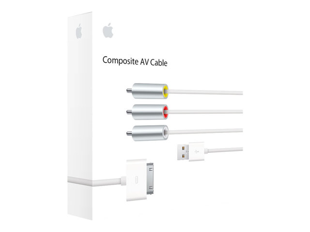 Apple : APPLE COMPOSITE AV cable .