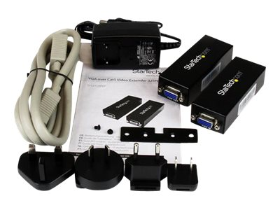 Startech : VGA VIDEO EXTENDER OVER CAT5 - POINT TO POINT (UTPE SERIES)