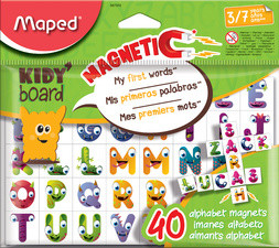 Maped Plaquette d'aimants KIDY board, alphabet