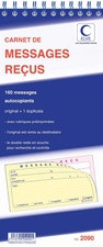 ELVE Carnet de messages reçus, 120 messages repositionnables