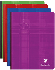 Clairefontaine Cahier broché, 170 x 220 mm, 288 pages, 5/5