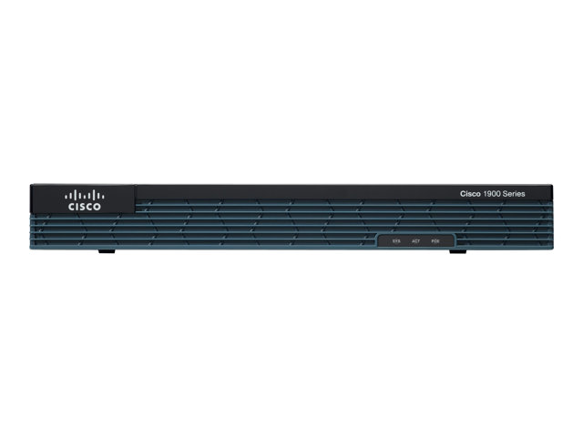 Cisco : C1921 MODULAR ROUTER 2 GE PM 2 EHWIC SLOTS 512DRAM IP BASE en