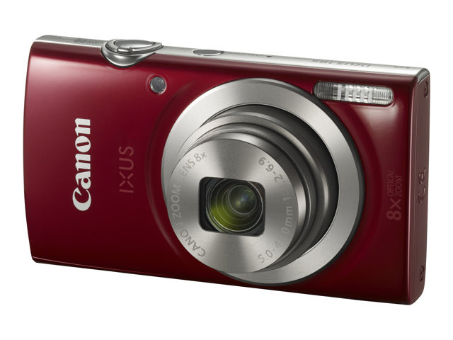 Canon : IXUS 185 RED CCD 8X 20MPX 2.7IN