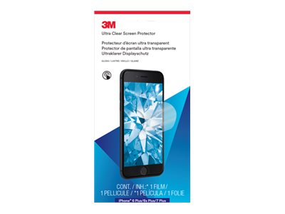 3M : SCREEN PROTECTOR pour IPHONE 6 PLUS/6S PLUS et 7 PLUS