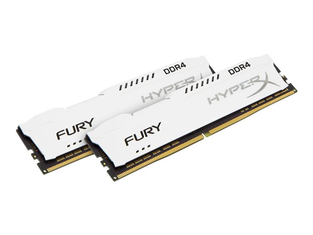 Kingston : 32GB DDR4-2400MHZ CL15 DIMM (kit OF 2) HYPERX FURY WHITE