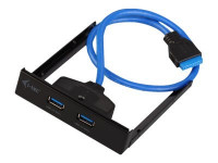 I-Tec : FRONTPANEL ADAPTER USB 3.0 2PORT TYP A interne