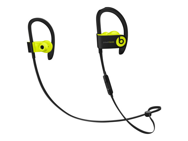 Apple : POWERBEATS3 WIRELESS EARPHONES SHOCK YELLOW
