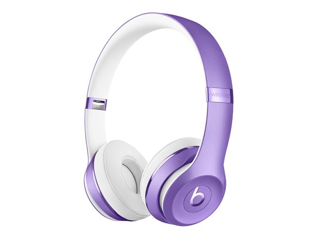 Apple : BEATS SOLO3 WIRLS ON-EAR HEADPHONES ULTRA VIOLET