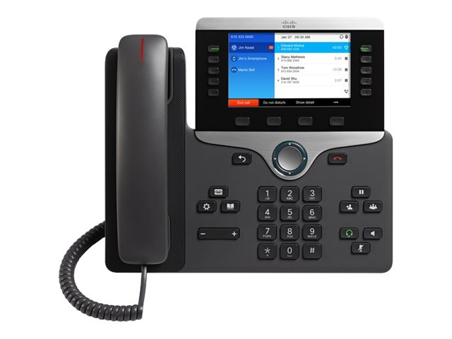 Cisco : CISCO IP PHONE 8851 avec MULTIPLATFORM PHONE FIRMWARE