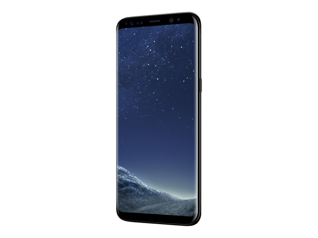 Samsung : GALAXY S8 BLACK 4GB 64GB ANDRD7 LTE 5.8IN (andrd)