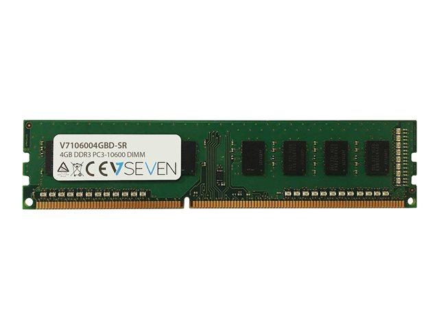 V7 : 4GB DDR3 1333MHZ CL9 DIMM PC3-10600 1.5V