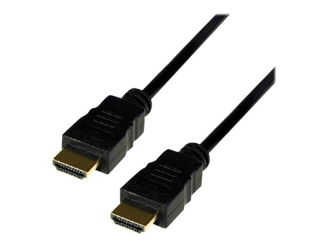 MCL Samar : 1080P HIGH SPEED HDMI cable 3D et ETHERNET MALE / MALE - 1M