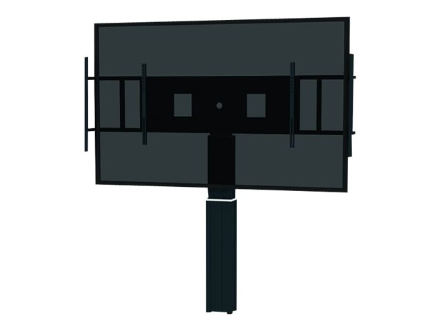 NewStar : MOTORIZED RAL 9005 BLK 42-100IN 200X200/1200X600 150KG+BRACKETS