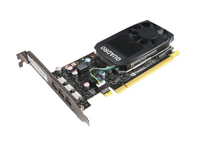 Lenovo : TS NVIDIA QUADRO P400 GRAPHICS card avec HP BRACKET